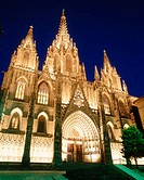 Cathedral. Barcelona. Catalonia. Spain