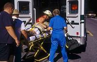 Paramedics, Delaware, USA.