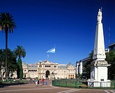 Government house, Plaza de Mayo, Buenos Aires, Argentina.