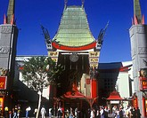 Mann´s Chinese Theater, Hollywood, Los Angeles, California, USA.