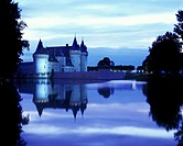 Chateau Sully-sur-Loire, Loiret, France.