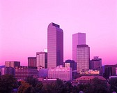 Downtown skyline, Denver, Colorado, USA.