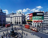 Piccadilly Circus, West End, London, England, U.K.
