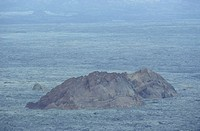 Mountain on a landscape, Galapagos