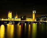 England, London, Houses of Parliament (long exposure)