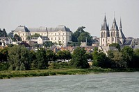 Blois on river Loire