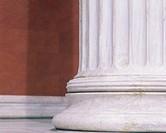 Classical column, detail