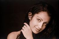 Portrait of Persian woman