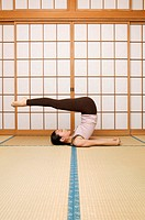 Woman Doing Yoga (thumbnail)