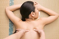Massaging Woman's Back (thumbnail)