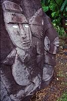 Statue, Avarua Town, Rarotonga, Cook Islands