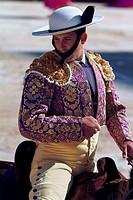Matador riding a horse, Provence, France