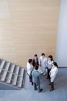 Fatronik Research Centre, San Sebastian Technological Park, Donostia, Gipuzkoa, Basque Country. Businesspeople and technicians
