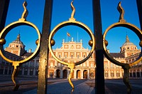 Royal Palace. Aranjuez. Madrid province. Spain