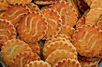 Biscuits at a French market in Chichester