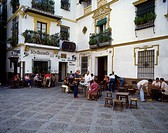 Outdoor Cafe, Seville, Andalusia, Spain
