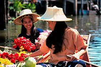 Thailand, Bangkok, Floating Market MR46-15/16
