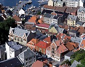 Norway, Bergen, Bryggen