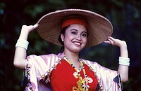 Sarawak Cultural Village, Orang Ulu Costume