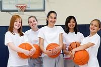Girl´s Basketball Team