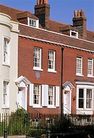 Great Britain, England, Portsmouth,  Charles Dickens birthplace  United Kingdom, South England, peninsula Portsea, county Hampshire, house, residence,...
