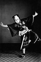 Boy Dressed as Samurai
