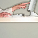 Woman Using Computer (thumbnail)