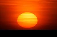 Sunset   Series, sea, ocean, sea, horizon, nature, waters, sun, dusk, sunset, nature drama, color mood red, orange, concept, romanticism, end, day end...