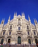 Facade of Cathedral of Milan