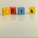 Wooden Blocks Spelling 401k