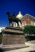 Massachusetts state house, Boston, Massachusetts, USA