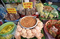 Thailand, Bangkok, business, Sale, food, detail  Retails sale Asia, seasoning, vegetables, foods, economy,