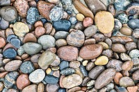 Pebbles, wet, scrutinized,  differently, detail  Beach, shingle beach, stones, shingle, mineral, nature, forms, structure, patterns, difference, uniqu...