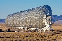 Very Large Array, Radio Telescope Antenna(s), 25m/82' diameter, 27 antennas in an adjustable Y shape. National Radio Astronomy Observatory, New Mexico...