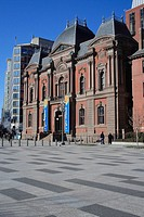 Washington DC, USA, America, United States, North America, Renwick Gallery, building, construction, facade, museum, pl
