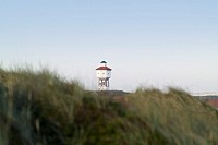 Germany, Lower Saxony, island  Langeoog, water tower, Hügellandschaft,   Northern Germany, North sea island, Ostfryingland, Ostfryingische islands, No...