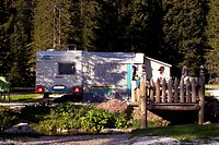 Camping, trailers,