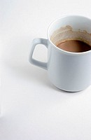 Half-full cup of coffee (thumbnail)