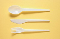 Plastic cutlery (thumbnail)