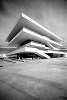 America´s Cup Pavilion. Veles e Vents building by David Chipperfield. Valencia, Spain.