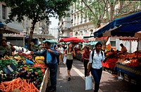 Market,, immigrant´s, quarter,, Marseille,, Provence,, Southern, France