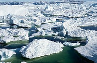 Ilulissat Icefjord. Greenland