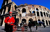 Italy, Latium, Roma, the Coliseum