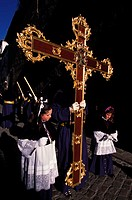 Spain, Andalusia, Granada, Holy Week, procession