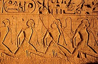 Egypt, Nubia, Abu Simbel, Ramesses II´s temple (Lake Nasser)