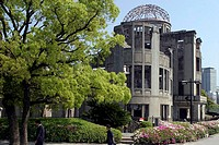 Japan, Honshu Island, Hiroshima, the rescapé building of the atomic explosion of 1945 (the A-Dome)