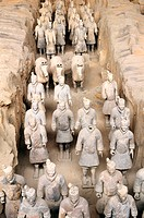 China, Shaan´xi province, terracotta army of Lintong (classified world heritage by UNESCO)