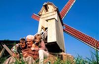 France, Nord (59), Steenvoorde mill