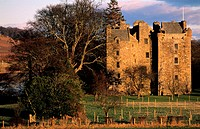United Kingdom, Scotland, Perthshire, Elcho Castle