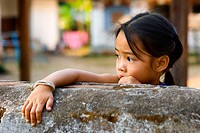 Little girl, Luang Prabang, Laos